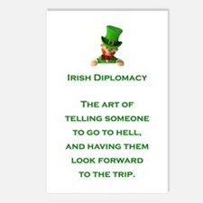 IRISH DIPLOMACY Postcards (Package of 8)