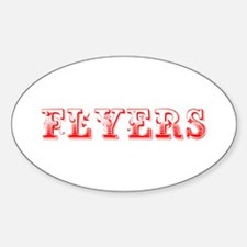 Flyers-Max red 400 Decal