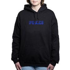 Foxes-Max blue 400 Women's Hooded Sweatshirt