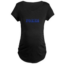 Foxes-Max blue 400 Maternity T-Shirt