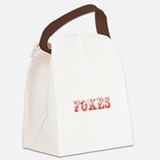 Foxes-Max red 400 Canvas Lunch Bag