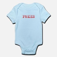 Foxes-Max red 400 Body Suit