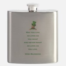 IRISH BLESSING Flask