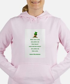 IRISH BLESSING Women's Hooded Sweatshirt