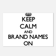 Keep Calm and Brand Names Postcards (Package of 8)