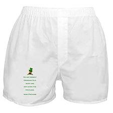 IRISH PROVERB Boxer Shorts