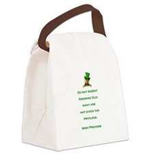 IRISH PROVERB Canvas Lunch Bag