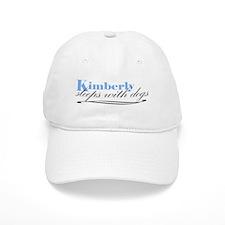 Kimberly Sleeps With Dogs Baseball Cap
