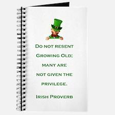 IRISH PROVERB Journal
