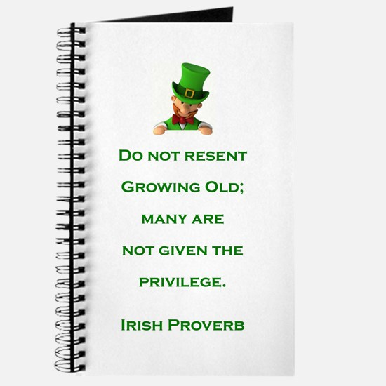 IRISH PROVERB Journal