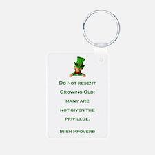 IRISH PROVERB Keychains