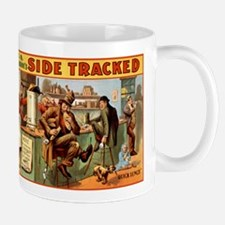 SIDE TRACKED coffee cup