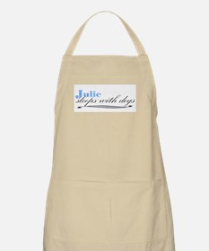 Julie Sleeps With Dogs BBQ Apron