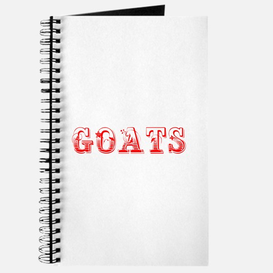 Goats-Max red 400 Journal