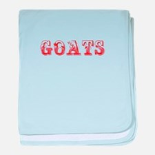 Goats-Max red 400 baby blanket