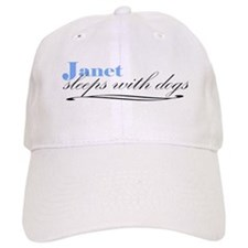 Janet Sleeps With Dogs Baseball Cap