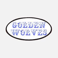 Golden Wolves-Max blue 400 Patch