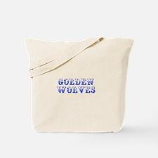 Golden Wolves-Max blue 400 Tote Bag