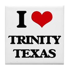 I love Trinity Texas Tile Coaster