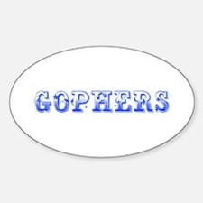 Gophers-Max blue 400 Decal