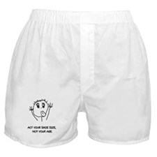 Act Your Shoe Size Boxer Shorts