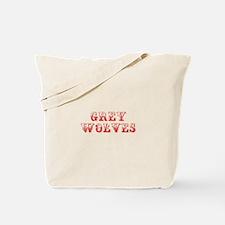 Grey Wolves-Max red 400 Tote Bag