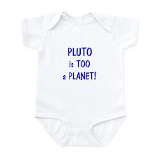 Pluto's a Planet Infant Bodysuit
