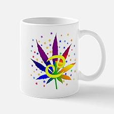 Rainbow Marijuana Cancer Mug