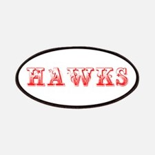 Hawks-Max red 400 Patch