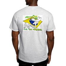 Que Tem Firmeza Ash Grey T-Shirt