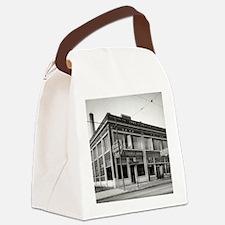Detroit circa 1912. Dime Savings Canvas Lunch Bag