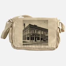 Detroit circa 1912. Dime Savings Ban Messenger Bag