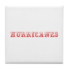Hurricanes-Max red 400 Tile Coaster