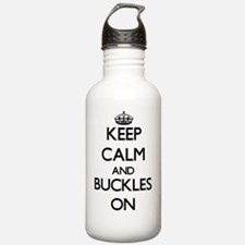 Keep Calm and Buckles Water Bottle