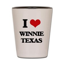 I love Winnie Texas Shot Glass
