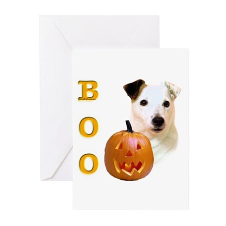 Jack Russell Boo Greeting Cards (Pk of 10)