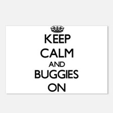 Keep Calm and Buggies ON Postcards (Package of 8)