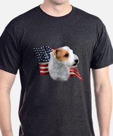 Jack Russell (broken) Flag T-Shirt