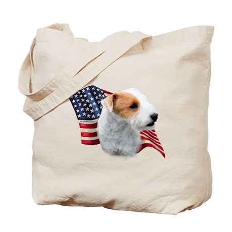 Jack Russell (broken) Flag Tote Bag