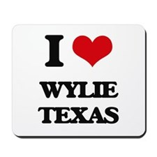 I love Wylie Texas Mousepad