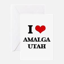 I love Amalga Utah Greeting Cards