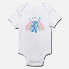 Rainbow Bear First Birthday Boy Infant Bodysuit
