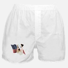 Jack Russell Terrier Flag Boxer Shorts