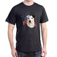 Jack Russell Terrier Flag T-Shirt