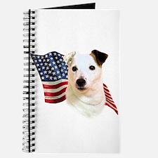 Jack Russell Terrier Flag Journal