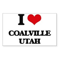 I love Coalville Utah Decal