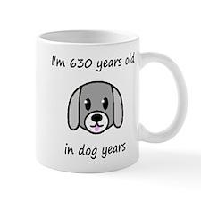 90 dog years 2 Mugs