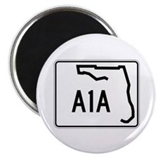 """Route A1A, Florida 2.25"""" Magnet (10 pack)"""