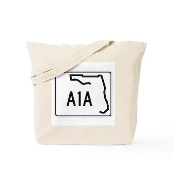 Route A1A, Florida Tote Bag