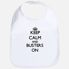 Keep Calm and Busters ON Bib